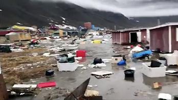 Cunami csapott le Grönlandra