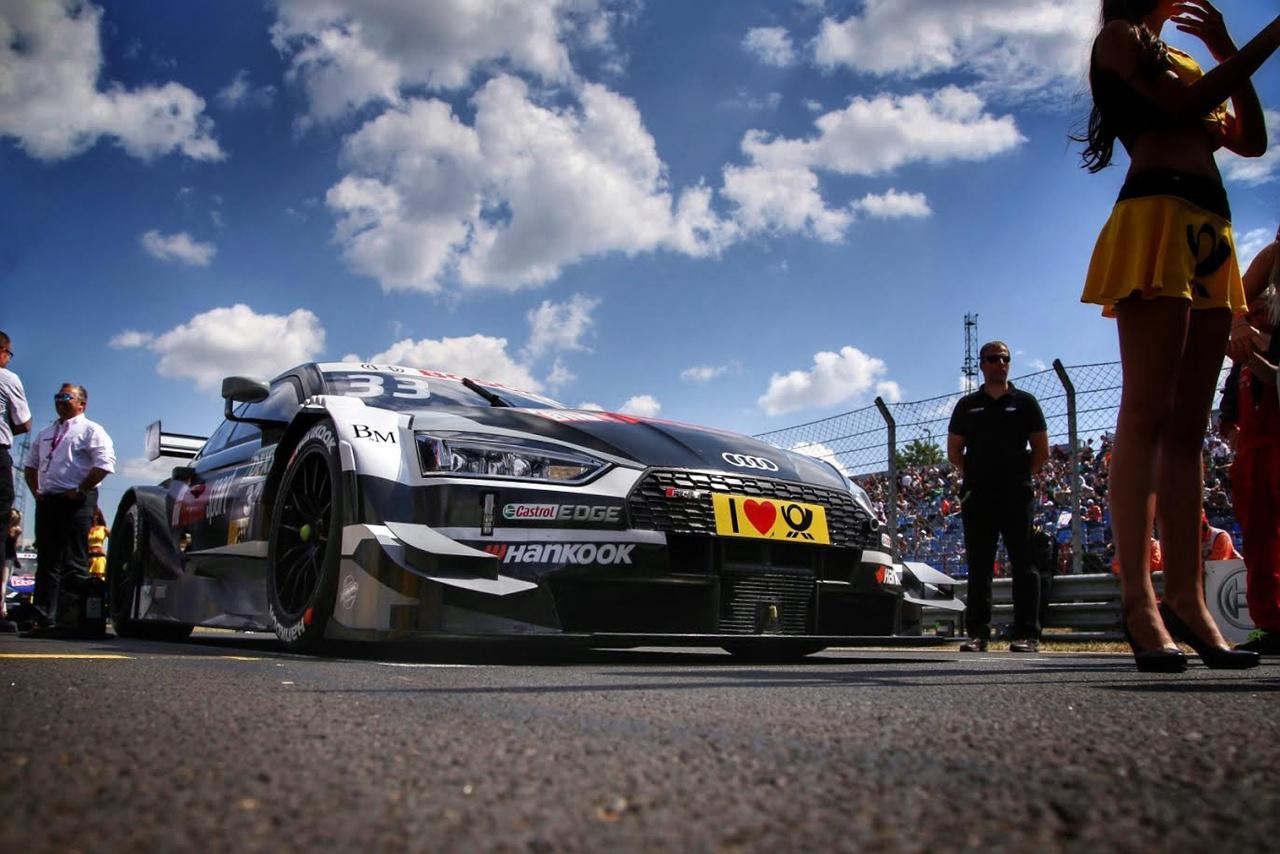 Rast igyekezete ismét pole pozíciót ért, ám ezúttal meg is szerezte első DTM futamgyőzelmét az Audival, amit aztán a csapatrádióban dalolva ünnepelt a leintés után