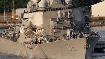 A japánok nem értik, miért nem jelezték azonnal a hajók ütközését