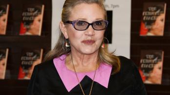Kokain, heroin és ecstasy is volt Carrie Fisher szervezetében, amikor meghalt
