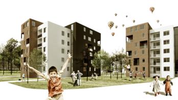 Ferencvárosban új emeleteket építenének a panelekre