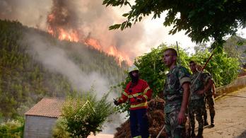 Újra erőre kaphat a gyilkos tűz Portugáliában