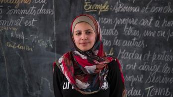 Az UNICEF nagykövete lett egy 19 éves szír menekült lány