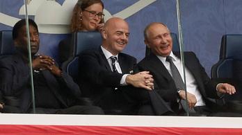 Videóbíró: teljesen odavan a FIFA-elnök
