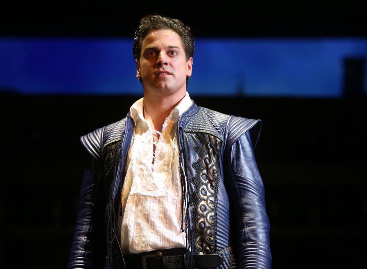 Nagy Sándor a Szerelmes Shakespeare címszerepében