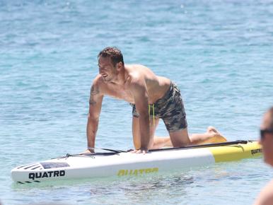 Francesco Totti sírva búcsúzott, de most már nyaral