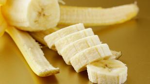 De mi az a fehér izé a banánon?