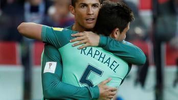7 perc 45 mp kellett C. Ronaldo legegyszerűbb fejeséhez