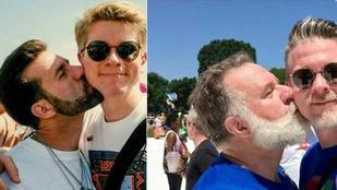 24 év után újra megcsinálták ugyanazt a fotót