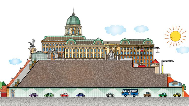 Gyerekkönyv Budapestről, klassz metszeti rajzokkal