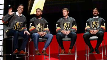 Itt a Las Vegas Knights kerete
