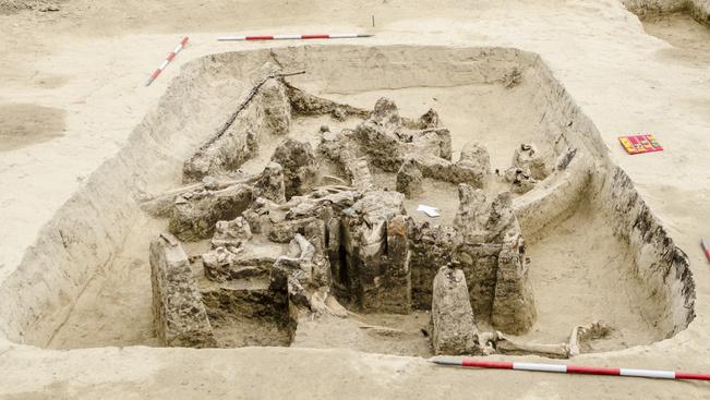 Római kori luxus utazókocsira bukkantak a csillaghegyi strandon
