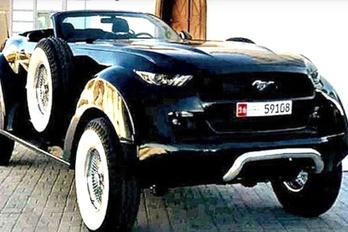 A sejk szeme fénye, a Dodge Mustang