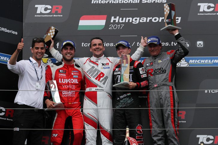 2017-2017 Hungaroring Race 2---Podium Race2 13