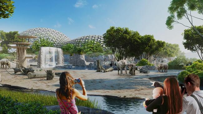 Fél év múlva nyílik a Holnemvolt Vár a fővárosi állatkertben