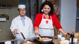 Ázsiai ételeket főztünk Mautner Zsófival