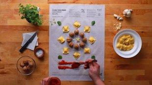 Tanulj főzni infografikákkal