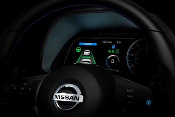Ezt is tudja az új Nissan Leaf