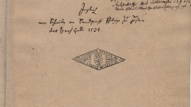 Csak holnap este lesz látható Luther saját kezével írt végrendelete