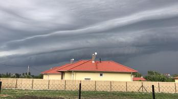 Heves zivatarokra figyelmeztet a meteorológiai szolgálat