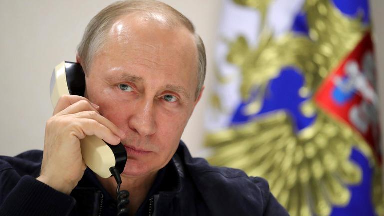 Illegális ügynökeinek üzent nyilvánosan Putyin