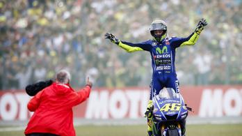 Rossi: A hajrában azt képzeltem, nem esik