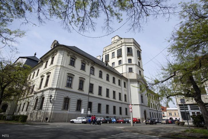Az Eszterházy Károly Egyetem épülete Egerben