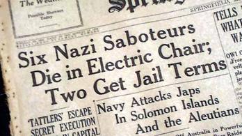 Hat náci kém, aki emlékművet kapott az USA-ban