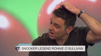 Ronnie O'Sullivan: Imádok összeomlani