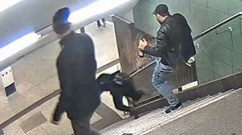 Három év börtön a berlini metróaluljárós rugdosódónak