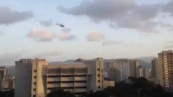 Helikopterről támadták meg a venezuelai legfelsőbb bíróságot