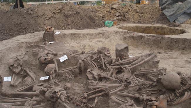 Rejtélyes tömegsírra bukkantak egy hódmezővásárhelyi homokbányában
