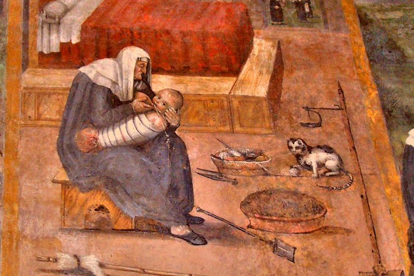 Brutális gyereknevelés a középkorban - A bántalmazás mindennapos volt