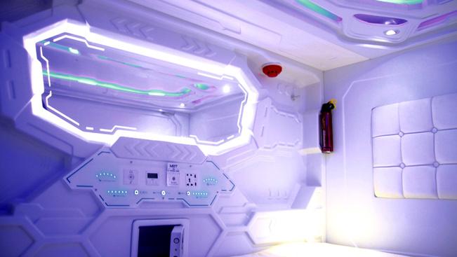 Űrkapszula szobákat kínál egy szingapúri hotel