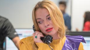 Lindsay Lohan egy kicsit megint megőrült
