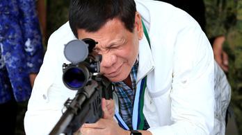 A Fülöp-szigeteki elnök szerint nem baj, ha a katonák civileket ölnek