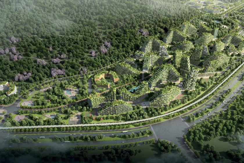 Elképesztő város épül Kínában