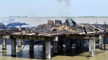 Armageddoni pusztítást végzett a szerdai tűz Fertőrákoson