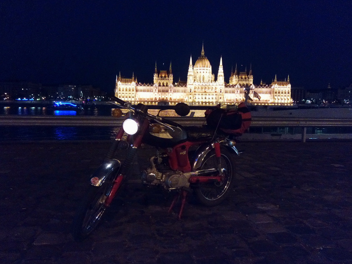 Már Budapesten!