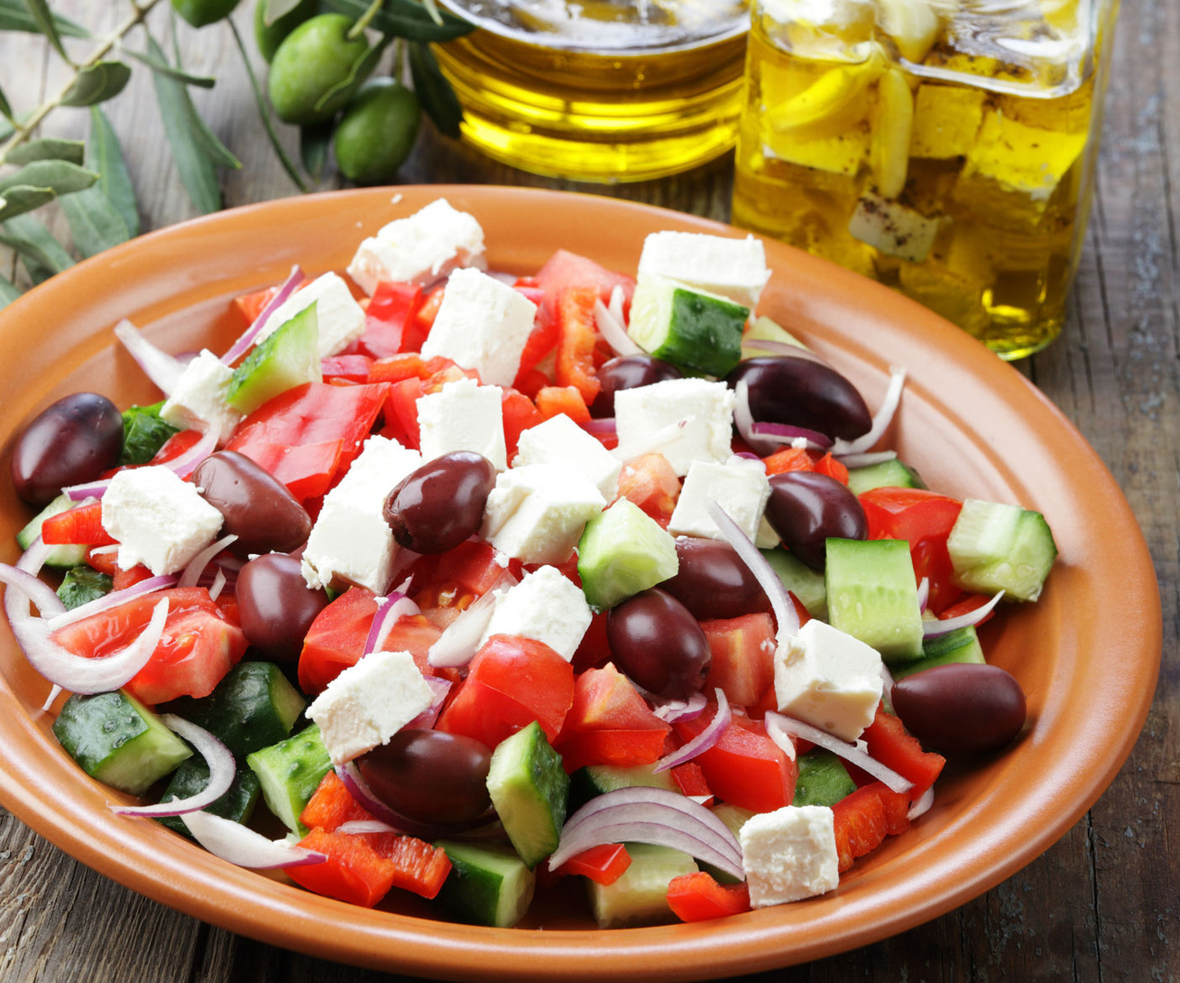 Az eredeti görög saláta receptje - Nem olyan, mint amit itthon árulnak