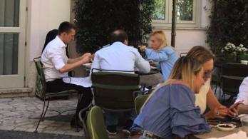 Rogánék római luxushotelben ebédeltek