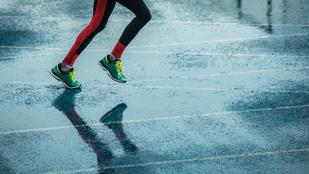 Szakadó esőben futni pocsék, viszont alázatra tanít