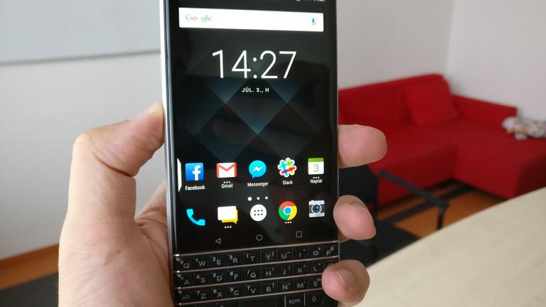Erős karakter a Blackberry KeyOne