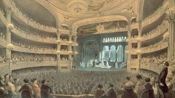 Az opera régen hatalmas buli volt, ma meg csak ülünk a sötétben