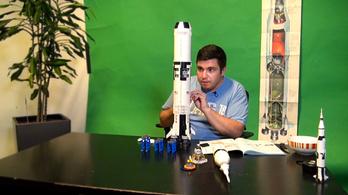Ez nem rakétatudomány! Megbirkóztunk a Lego holdrakétájával