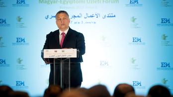 Orbán szerint jöhet a projekthullám Magyarország és Egyiptom között