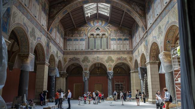 Nézzen képeket a Szépművészeti megújult Román csarnokáról