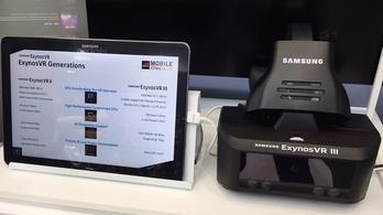 Követi a szemmozgást a Samsung titkos VR-szemüvege