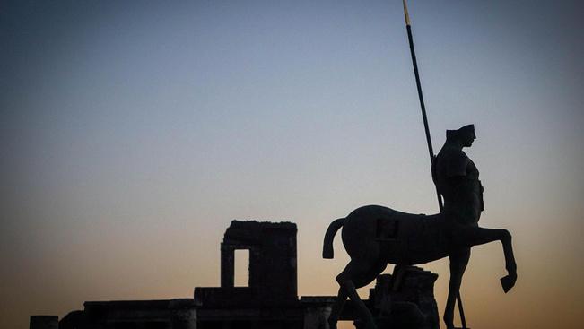 Pompeji is látogatható lesz éjjeli fényben