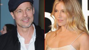 Sok a véletlen Brad Pitt és Sienna Miller feltételezett kapcsolatában